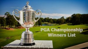 PGA Championship Winners List 2019